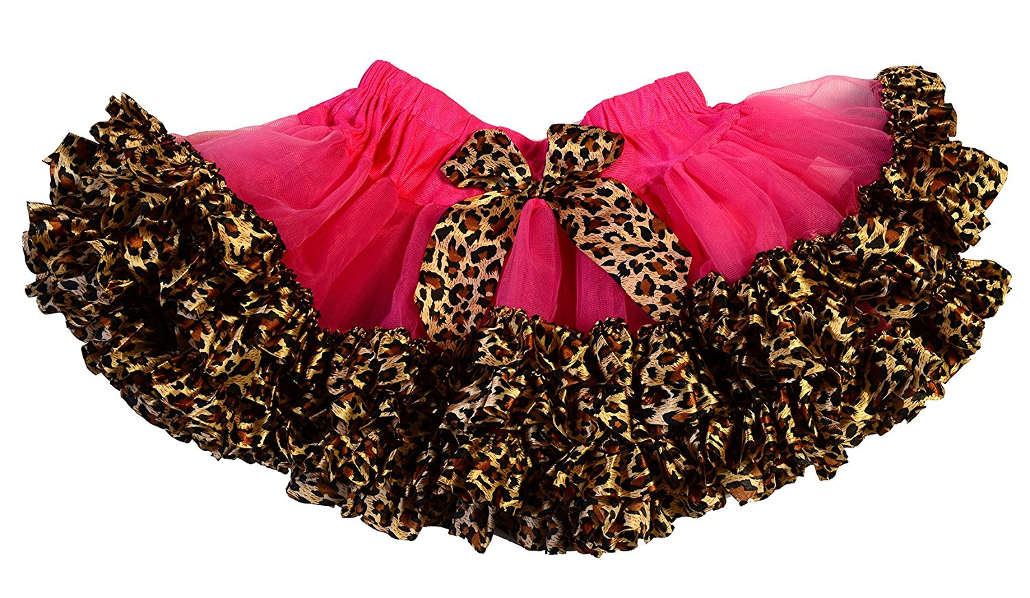 5be03821b Get Quotations · Maxine by Max Daniel Designs Girls' Fluffy Tulle Tutu  Skirt Tiered Animal Print Ballet Dance