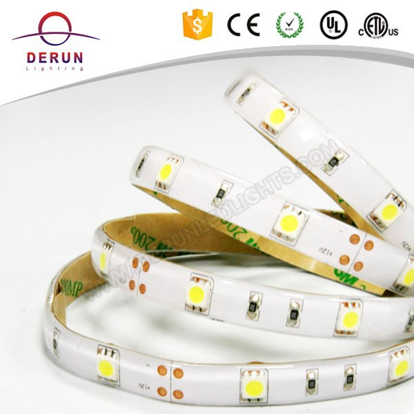 5050 white 150leds ip65 3m adhesive 12v waterproof led strip lights