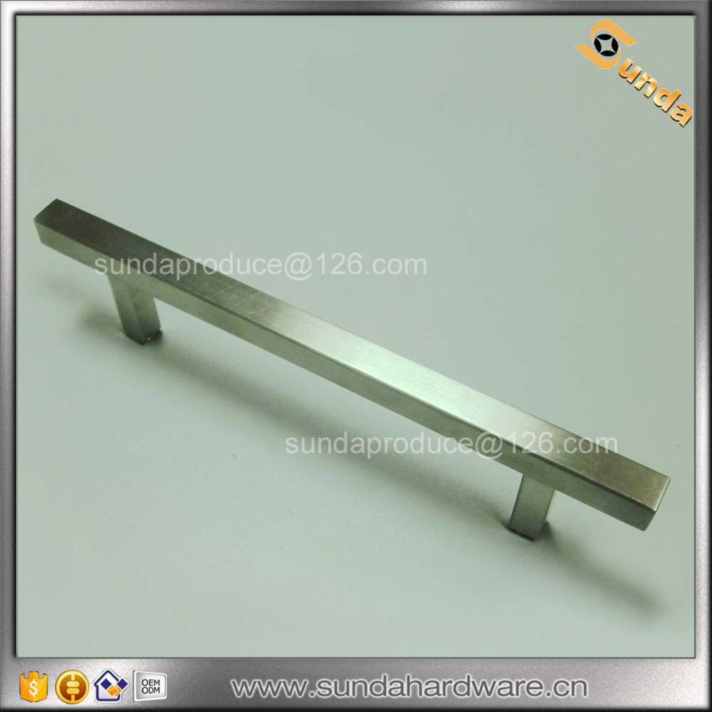 Solid Square Bar Furniture Handle/drawer Handle/dresser Pull Handle ...