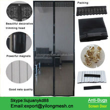 HOT Preventing Insects Magnetic Soft Screen Doors Curtain