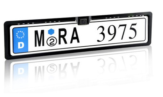 Free shipping New Universal Night Vision European License Plate Frame Car Camera,car reversing camera