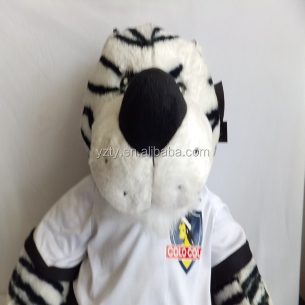 YangZhou toy factory direct sale soft toy tiger pattern with small MOQ