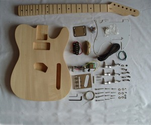 Hot sales diy unfinished electric bass guitar diy kit