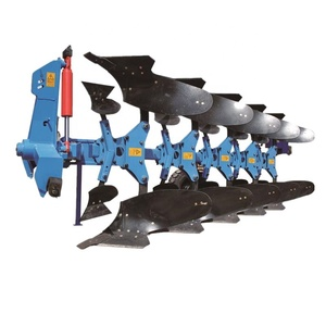 Excellent quality Farm machine 5 Furrow Hydraulic towable Reversible mounted Share Plough