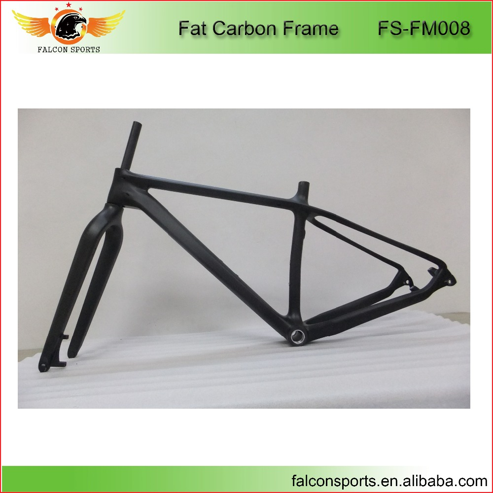 Falcon Fat Bike Frame With Max Tire 26er*4.7 Inch/carbon Fat Bike ...