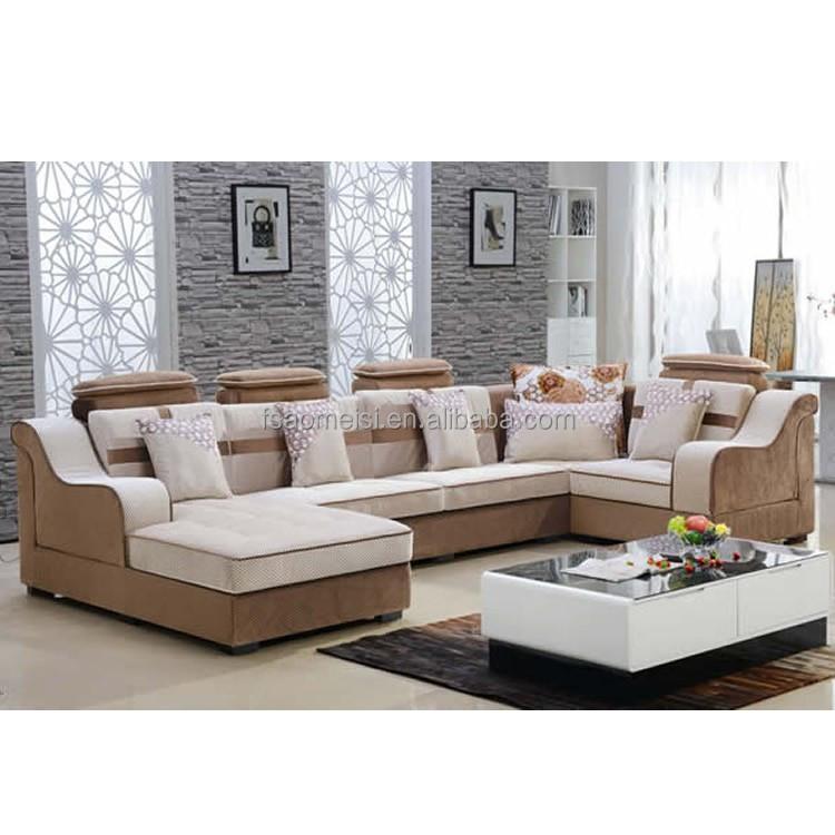 salon u belle forme en coupe canap en tissu d cors canap moderne vendre canap salon id de. Black Bedroom Furniture Sets. Home Design Ideas