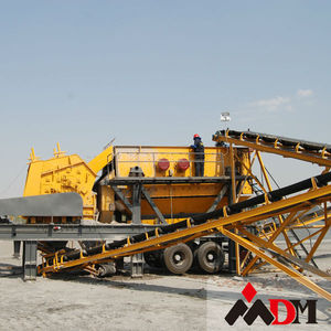 mobile quarry crushing plant in africa