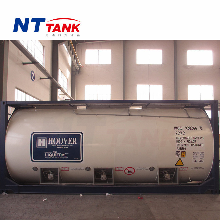 Ffactory supply 20 feet shipping transport tank container for sale