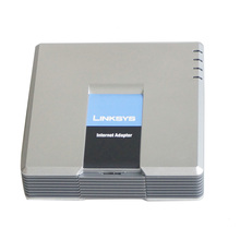 <span class=keywords><strong>2</strong></span> FXS <span class=keywords><strong>Port</strong></span> Asli GSM <span class=keywords><strong>Gateway</strong></span> Dibuka VoIP Adapter Linksys Pap2t