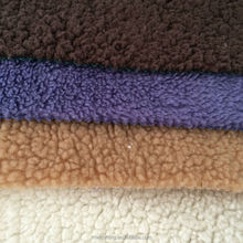 Wholesale 100 Polyester Sherpa Fleece Lining Fabric