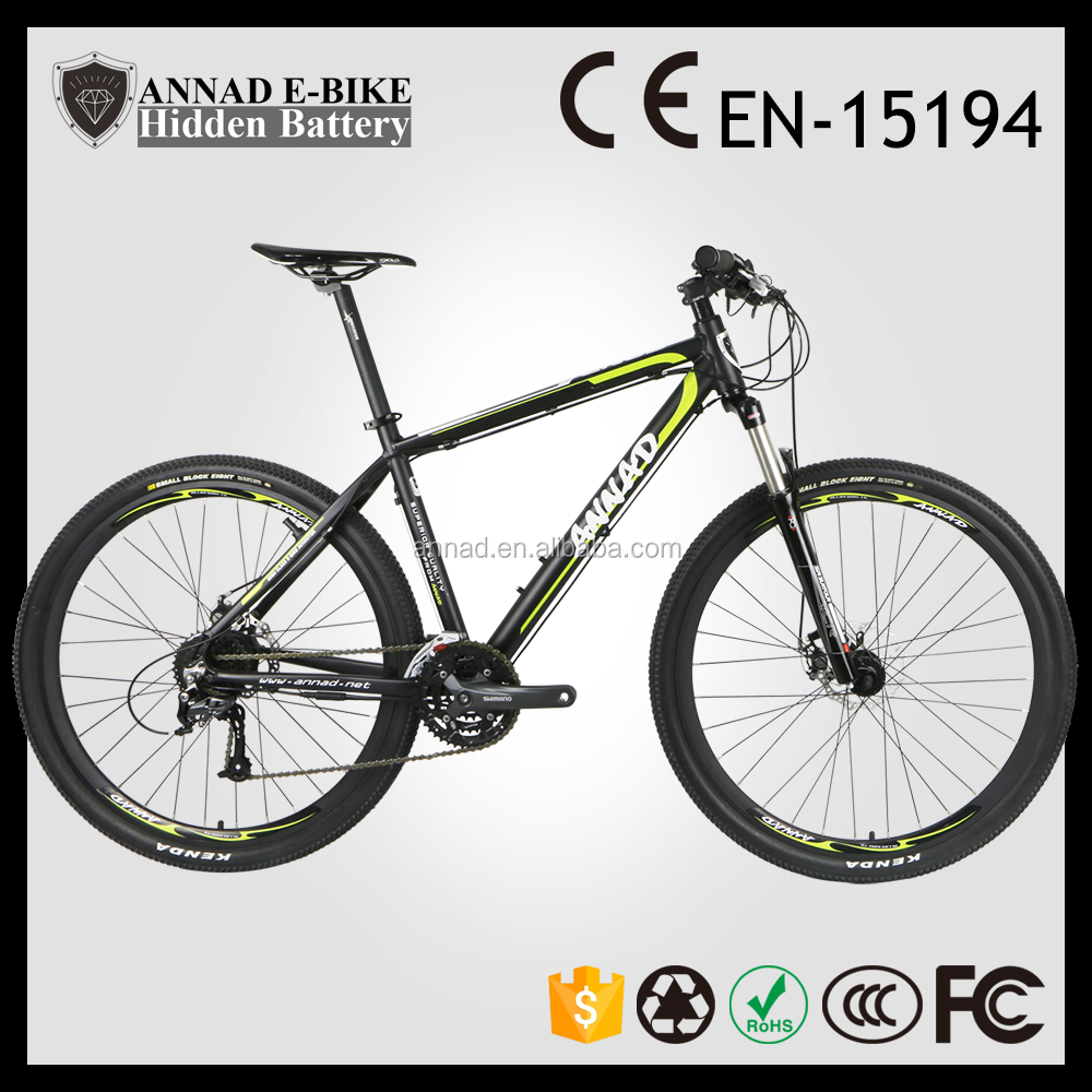 ce en15194 popular new design hidden battery fat bike frame full suspension