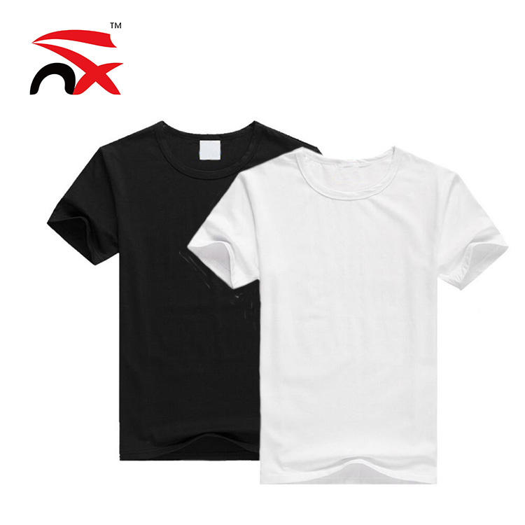 codice coupon miglior valore 100% originale Hot Sale Custom Logo Plain White Black T-shirt For Men Women And ...