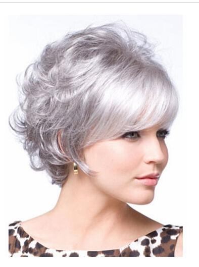 Court Argent Cheveux Styles Promotion-Achetez des Court