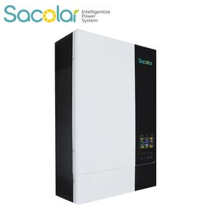 BMS commucation 500voc input 5kw lifepo4 charger inverter with 80a mppt