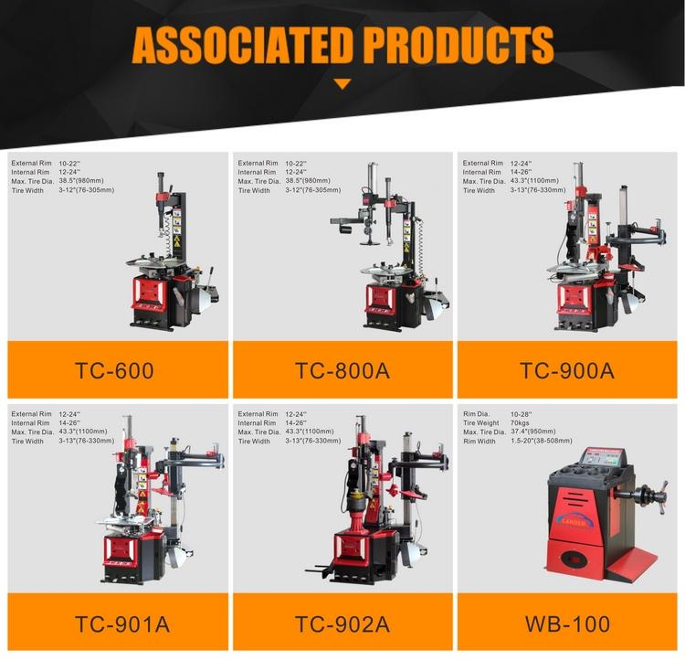 """Otomatik kamyon lastik değiştirici TTC-2000 14 """"-26"""""""