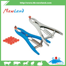 castrating band applicator for livestock/poultry in veterinary instrument
