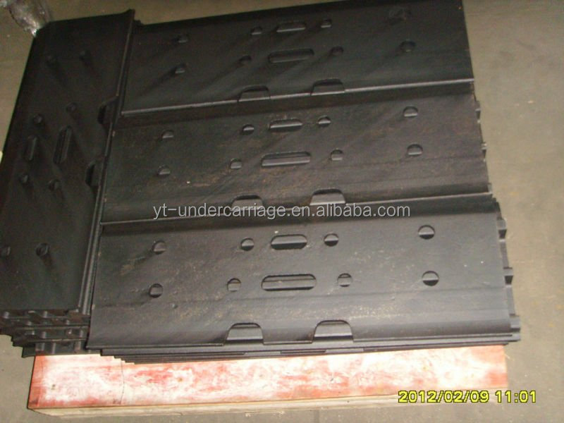 rubber track pada and rubber track shoes for Kobelco mini excavator