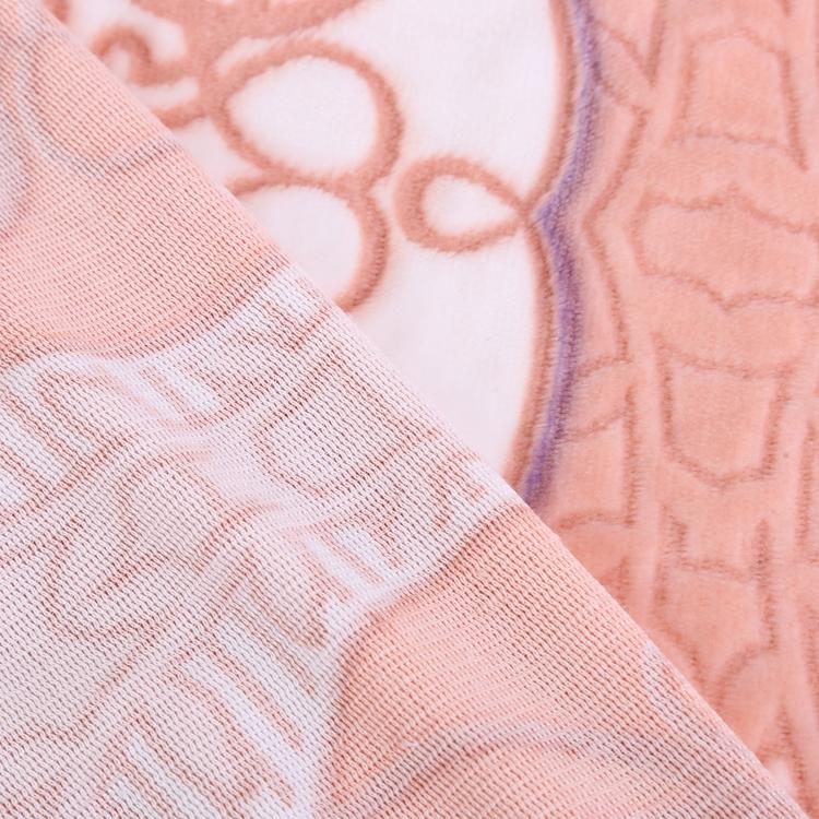 En gros pile profonde en relief tissu polaire pour couvertures et housse de canapé