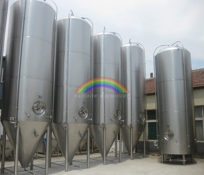 Beer glycol jacketed 2000L fermentation tank