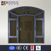 ROGENILAN embedded touch screen windows beveled glass windows for churches