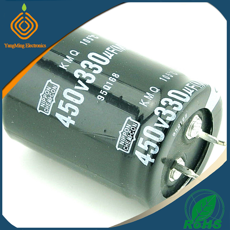 nippon chemi-con electrolytic capacitor 450V330UF 30X40mm