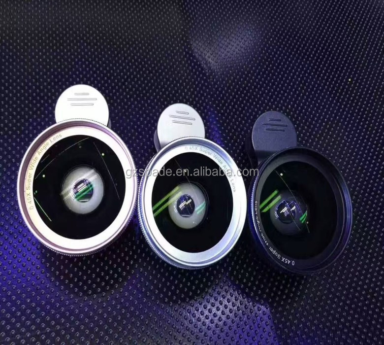2017 Trending Products 37mm 0.45x Wide Angle Telescope Lens For Mobile Phone ,Camera Lens For Smartphone