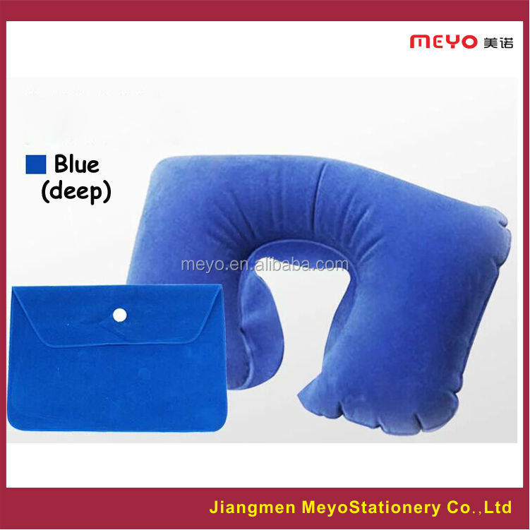 neck pillow paking bag set hot sales 2015 for products promotional gifts travel pillow