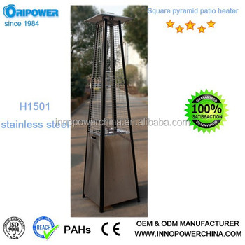 Pyramid Flame Patio Heater