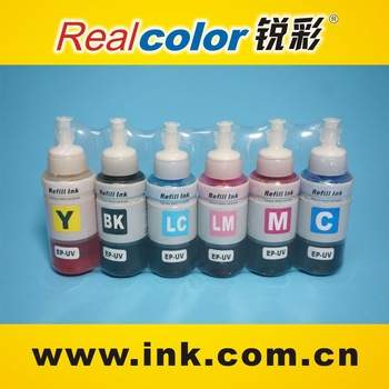 UV waterproof inkjet printer ink for continuous ink jet