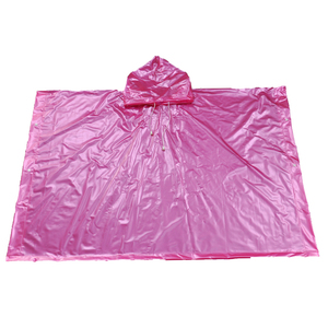 Promotional PVC Children Poncho Raincoat rain wear for boys and girls