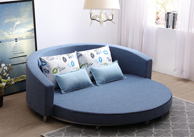 Sofa rund oval  Wholesale Folding Sleeping Round Oval Sofa Bed - Buy Round Sofa ...