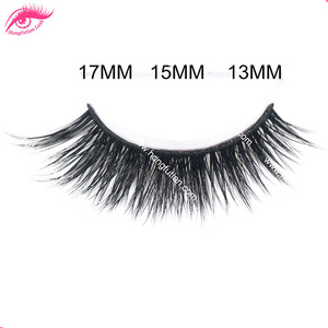 Hot sale fashion false eyelashes faux mink eyelashes private label eyelash
