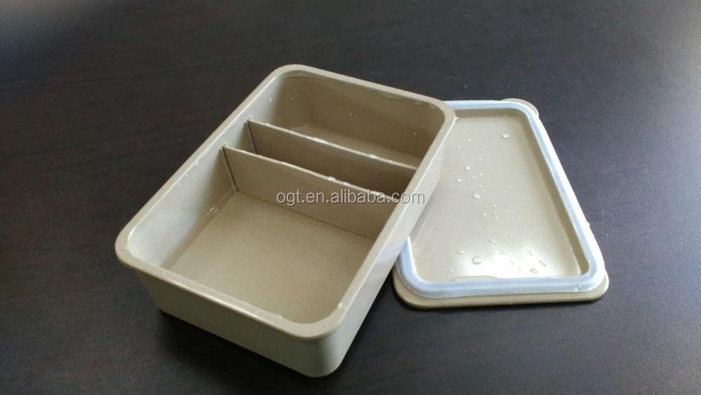 organische lunchbox beh lter f r lebensmittel mit trennw nden speicherkasten und beh lter. Black Bedroom Furniture Sets. Home Design Ideas