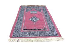 Adult Polyester Mosque Prayer Mat From Turkey