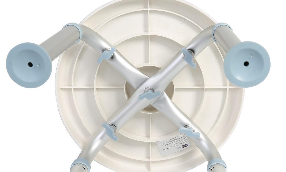 medico sedile girevole ruota di 360 gradi vasca da bagno vasca da bagno doccia sgabello sedia