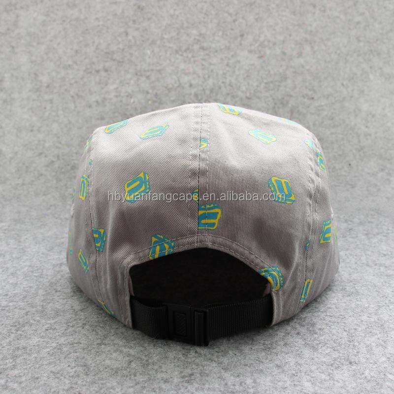 Nach Maß Entwurf Ihre Eigenen Logo-label Nähen 5 Panel Camper Hüte ...