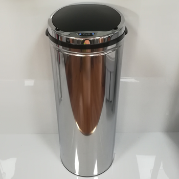 trash segregator cupboard round shape kitchen waste bins