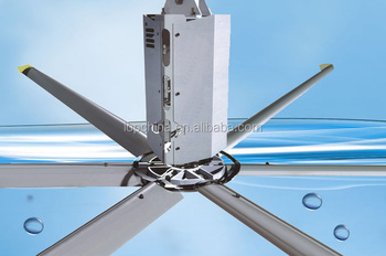 Big Industrial Ceiling Fans Big Aluminum Ventilative Air cooled