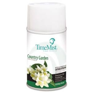 TimeMist Products - TimeMist - Metered Fragrance Dispenser Refill, Country Garden 6.6 oz. Aerosol Can - Sold As 1 Each - For use with TimeMist Metered Aerosol Dispensers (sold separately). - Scientifically counteract mal-odors. - 30-day refill.