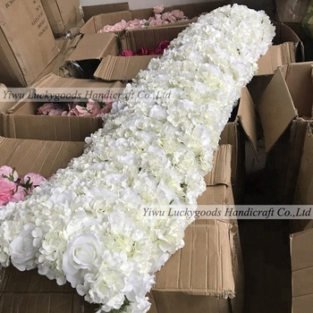 White Artificial Flower Garland For Wedding Decor Indian Backdrops