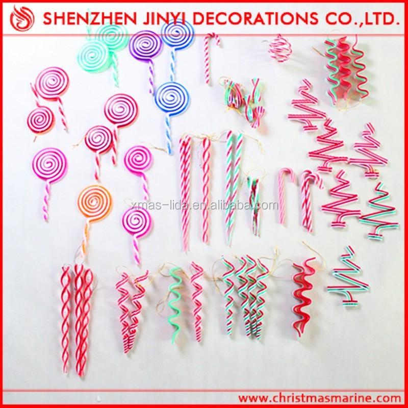 40 Christmas Tree DecorationsPlastic Candy Cane Christmas Tree Interesting Plastic Candy Cane Decorations