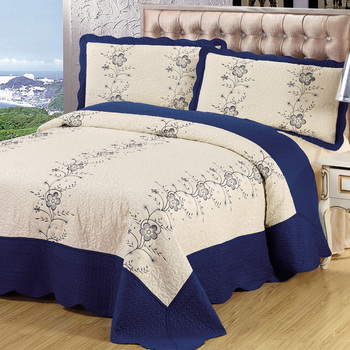 Pujiang Factory Cheap Wholesale Ribbon Embroidery Bedsheet Buy