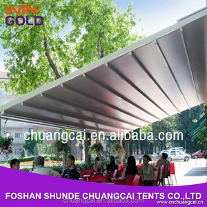 2015 hot sale aluminum folding arm balcony outdoor awnings for garden
