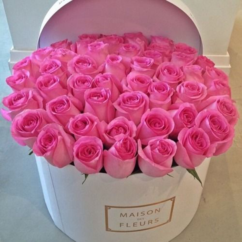 faveur de mariage valentine cadeau boîtes d'emballage fleur boîte