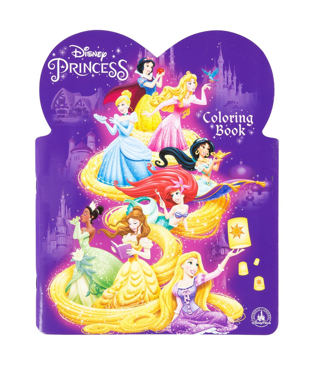 Buy Disney Princess Coloring Book Disney Parks Authentic In Cheap