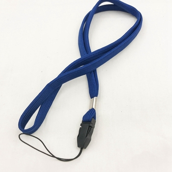 the hundreds metal band round silicone lanyards