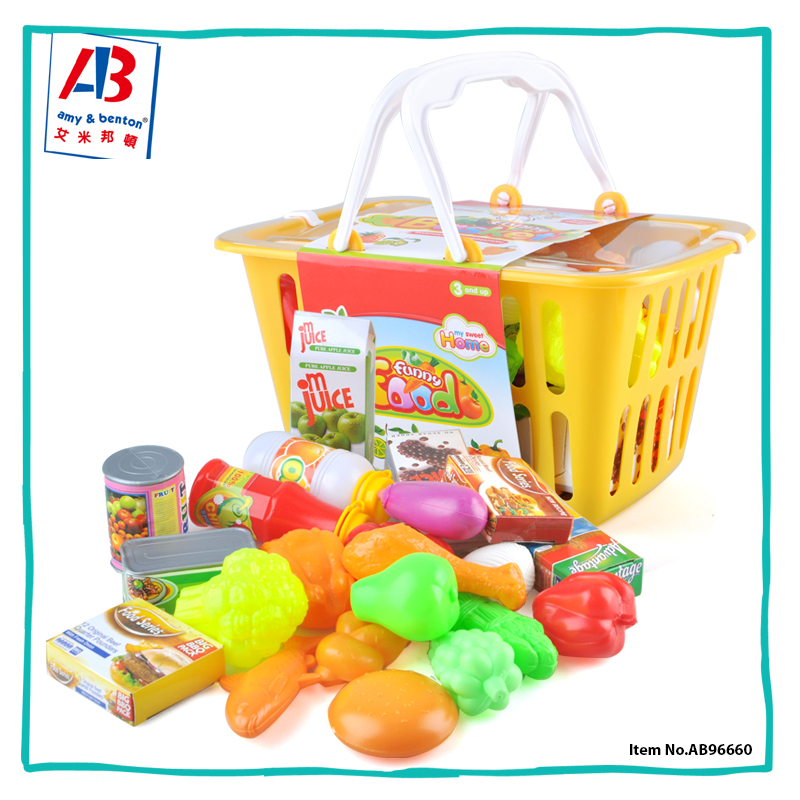 Children toys importers plastic food play kitchen sets for Plastic kitchen set