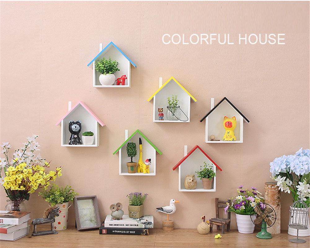 Home Decor Wall Hanging Shelf American