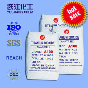Titanium dioxide Anatase Type Grade A100 for ceramics and glass