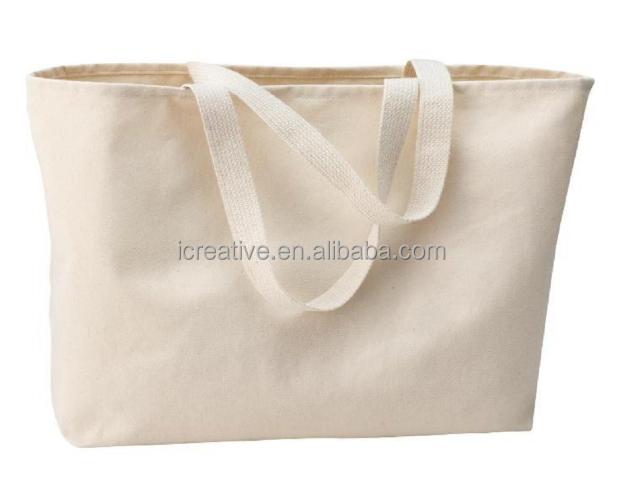 Di grandi dimensioni Twill di Cotone Tote Bag per Lo Shopping